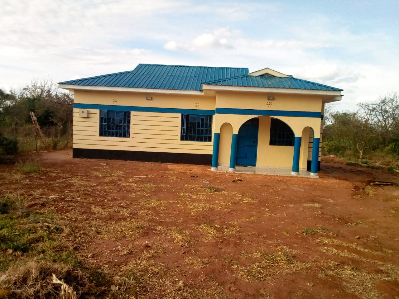 We have been able to finish the painting and equipping of our kora fom guest house in eastern kenya this is where our mission teams will be staying when we